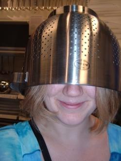 IKEA colander hat 2 aug 11 06.jpg